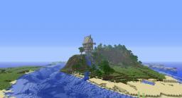 Steam-Punk Build  w/ awesome terrain Minecraft