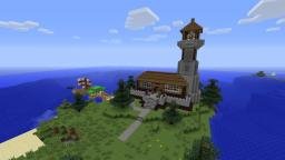 Light House Minecraft Map & Project