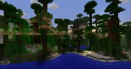 Jungle Treetop village Minecraft Map & Project
