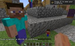 Steve villagers 1.7a for Minecraft 1.5.1 - Replaces testificates with Steve! Minecraft Mod