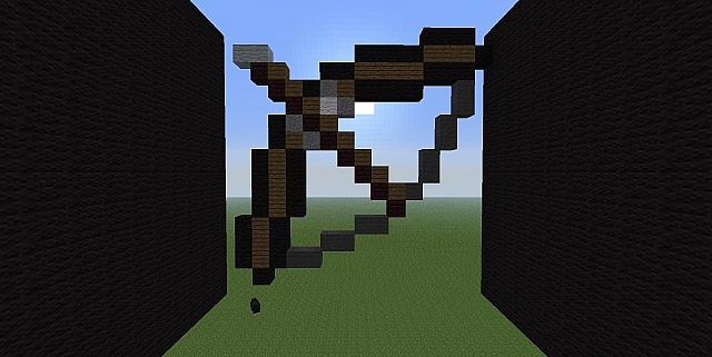 Bow Animation Pixel Art Minecraft Project