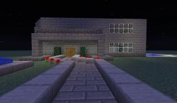 First Modern House Minecraft