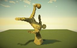 Golden Statue Minecraft Map & Project