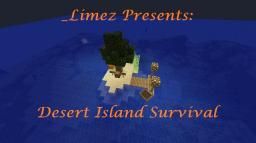 Desert Island Survival Minecraft Map & Project