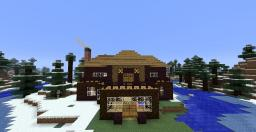 A small Manor for winter By Alessandrios Minecraft Map & Project