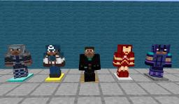 The Avengers Simplistic Texture Pack (now for version 1.5.2)