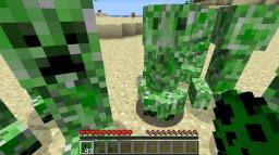 Peaceful Creepers Minecraft Mod