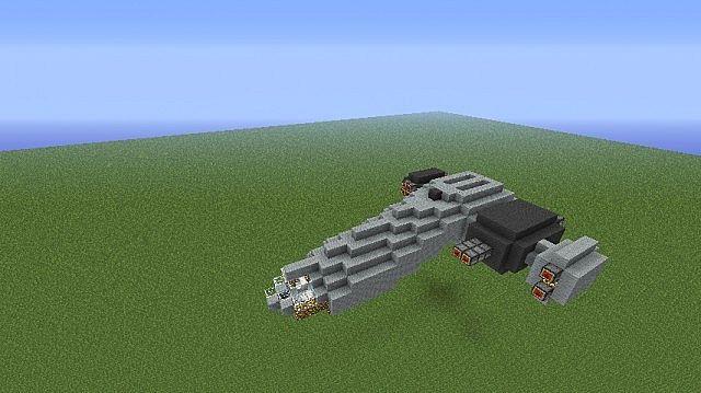 'Rhino' corvette-freighter Minecraft Project