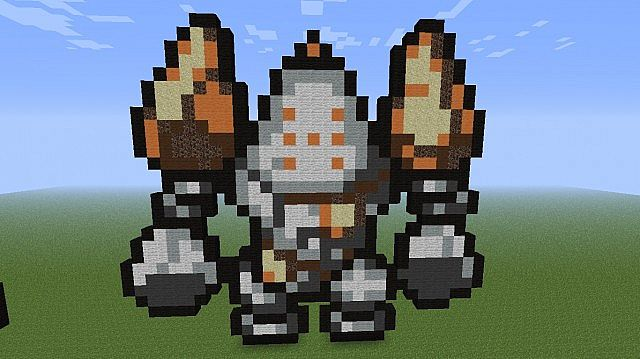 Regice Registeel And Regirock Pixel Art Minecraft Project