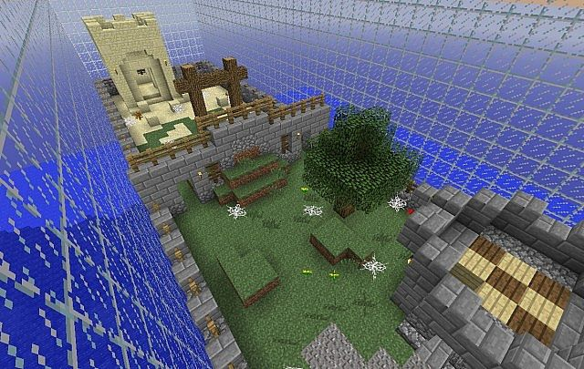 Minigames! Play 2vs2 and 3vs3 Capture the Flag