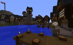 Stettburg Eckland town Minecraft