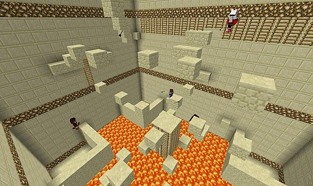 Minigames! Play 2-4 Player PVP Parkour