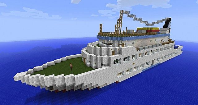 Ms adler clipper minecraft project