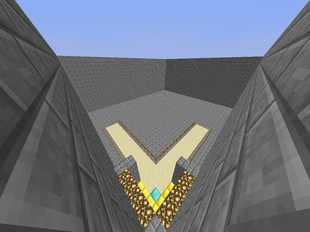 spawn building template minecraft project