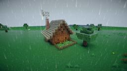 CryptGuardians wooden home Minecraft