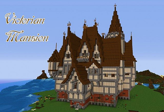 Victorian Mansion Minecraft Project