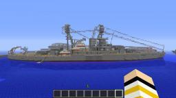 USS Arizona Battleship Minecraft Map & Project