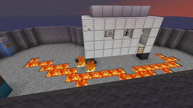I added lava