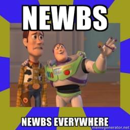 Newbs, everywhere? Minecraft Blog