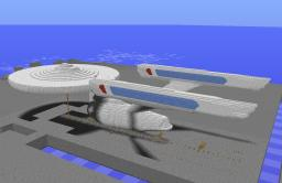 Enterprise A - Original Size - currently unfinished Minecraft Map & Project