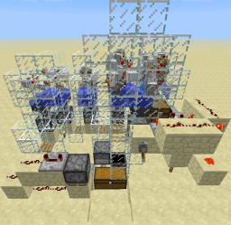 CodeCrafted's 'Fully automatic chicken farm' with an automatic cooker Minecraft Map & Project