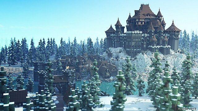 Showcase: The Dreadfort (Timelapse) Minecraft Project