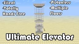 Ultimate Multi-floor Elevator (Command Block Elevator) [1.5] Minecraft Map & Project