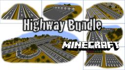 Highway (Autobahn) Bundle v1.0 Minecraft Map & Project