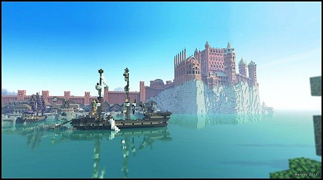 The city docks