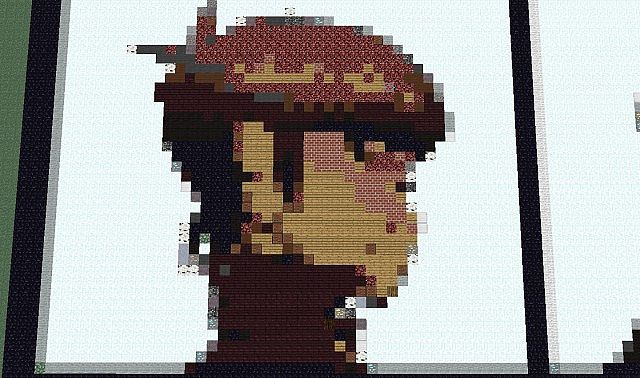 Gorillaz Demon Days Album Cover Minecraft Project | 640 x 378 jpeg 65kB