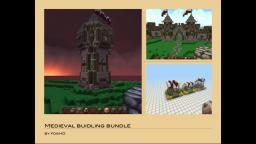 Medieval buidling bundle [MCEdit saves included] Minecraft Project
