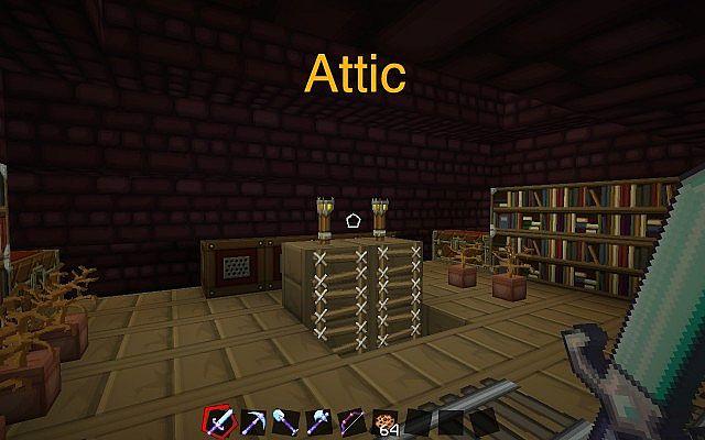 minecraft attic ideas - Modern Minecraft House Minecraft Project