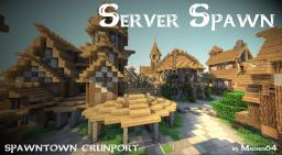 Spawn town Crunport Minecraft Project