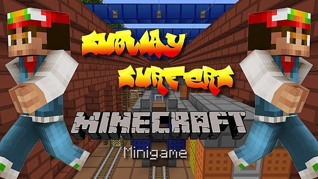 Subway Surfers Minecraft Minigame