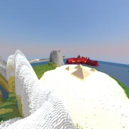 Utopia Islands ★CUSTOM TERRAIN★(BIG) Minecraft Map & Project