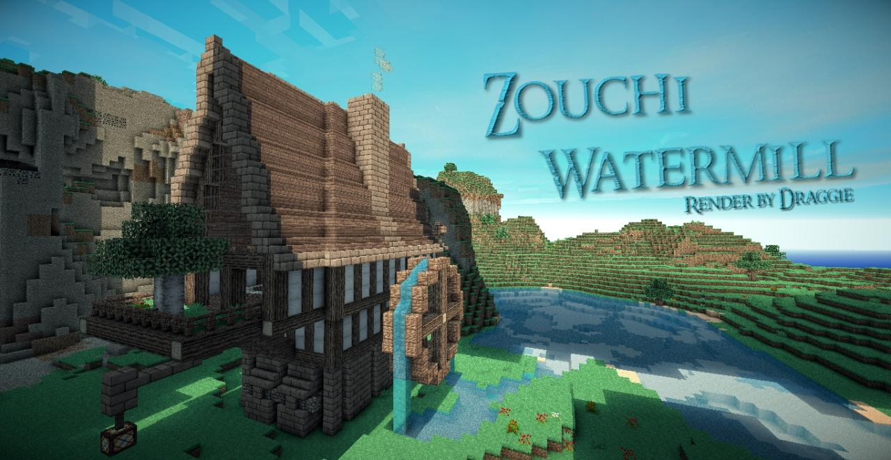Zouchi Watermill Minecraft Project