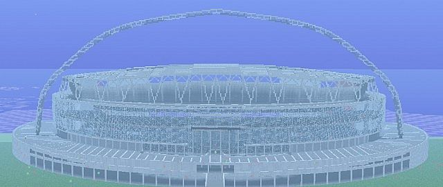 Englands football stadium wembley minecraft project gallery world viewer sciox Gallery