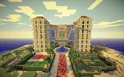 Amazing Island Resort Minecraft Map & Project