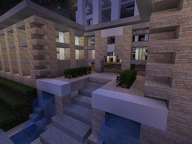 Modern Mansion Minecraft Project