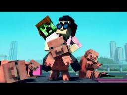 Gangnam Style map [Full note block song]!!! Minecraft Map & Project