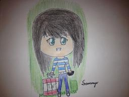 Drawing of the day! Jan 29 2012! Minecraft Blog Post