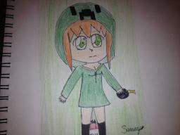 Drawing of the day! Jan 30th 2013 Minecraft Blog Post