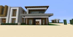 Modern House Two Minecraft Map & Project