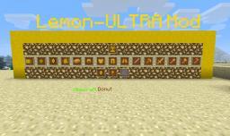 The Lemon-ULTRA mod! [MODLOADER][DISCONTINUED] Minecraft Mod