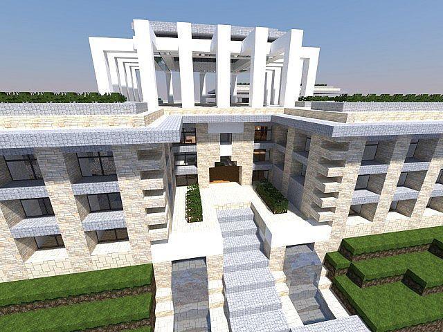 Render of Modern Mansion