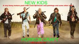 New Kids Horror Craft HD Minecraft Texture Pack