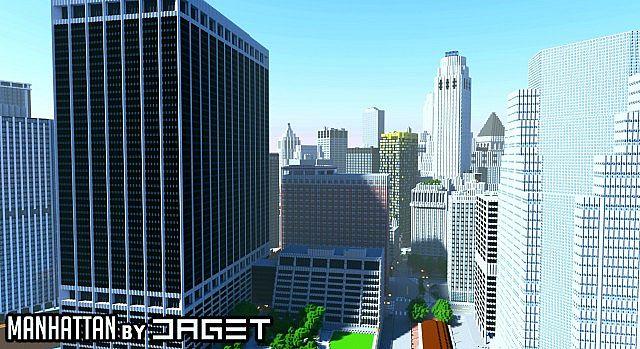 Нью-Йорк (New-York) - карта для Minecraft