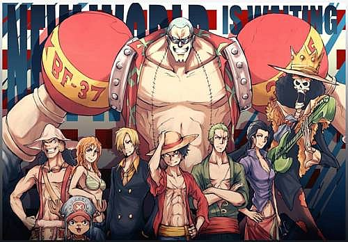 One Piece Skin Series {Pack 2} Straw Hat Crew in New ...