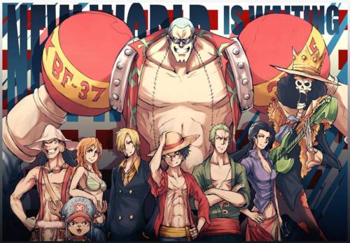 [One Piece Skin Series] {Pack 2} Straw Hat Crew In New World