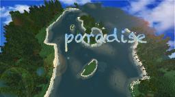 Paradise:custom terrain build Minecraft Map & Project